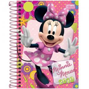 agenda cor-de-rosa Minnie