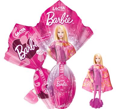 Ovos de Páscoa Pink - Barbie (Lacta)