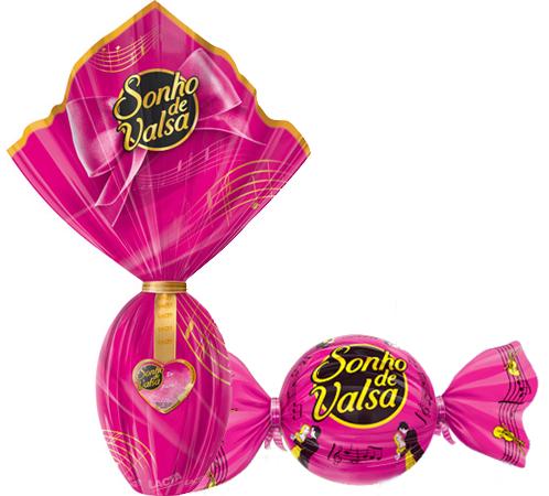 Ovos de Páscoa Pink - Sonho de Valsa (Lacta)