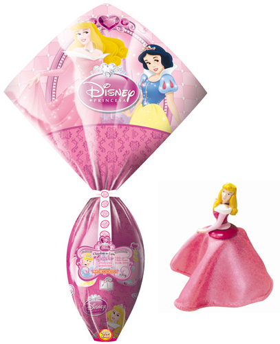 Ovos de Páscoa Pink - Princesas Disney (Top Cau)