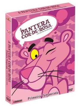 DVD Pantera Cor-de-Rosa
