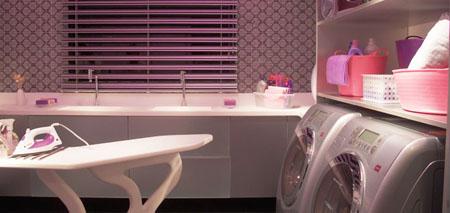 lavanderia cor-de-rosa na Casa Cor 2010
