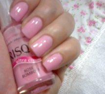 Esmalte cor-de-rosa da blogueira Tamara - I Love Pink