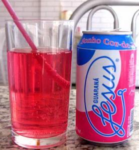 Guaraná Jesus - guaraná cor-de-rosa - I Love Pink