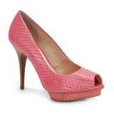 Peep Toe Rosa Naturezza