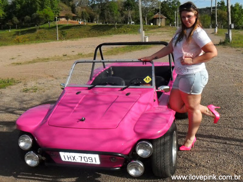 Meu Sonho Pink: Meu Carro Pink