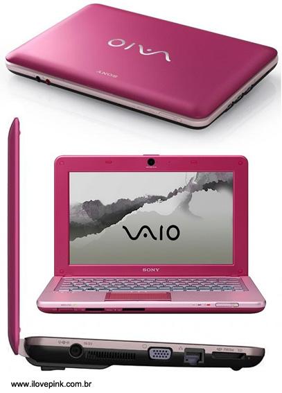 Netbook rosa Sony Vaio