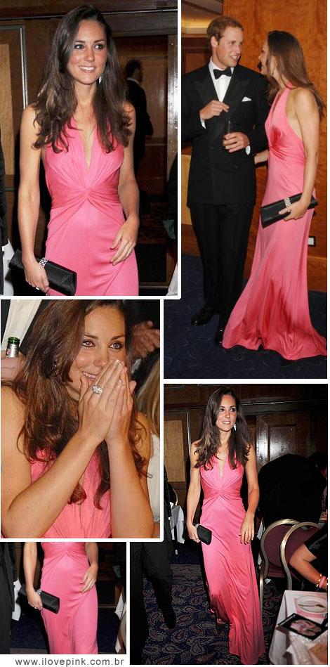 I Love Pink: O vestido cor de rosa de Kate Middleton