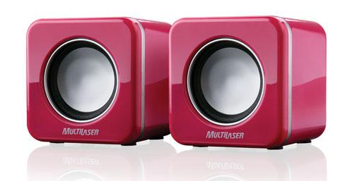 I Love Pink - Caixa de som rosa