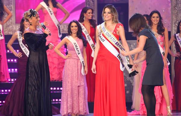 I Love Pink - vestidos cor de rosa Miss Brasil 2011