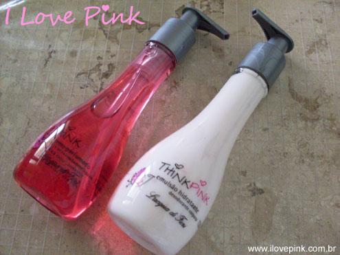 Linha Think Pink Lacqua Di Fiori