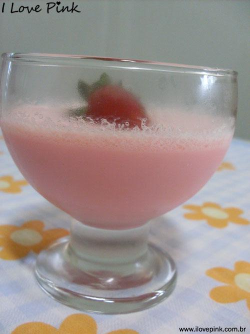 I Love Pink - receita cor de rosa: Pudim dos Anjos