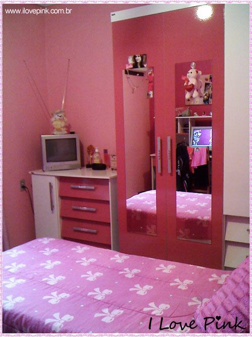 I Love Pink - Meu Quarto Cor de Rosa: Bruna