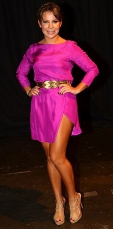 Look cor de rosa - Fernanda Souza