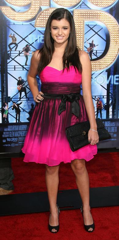 Batalha de look rosa - Rebecca Black