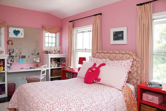 Paredes rosa i love pink moda beleza novidades rosa for Camera bambina
