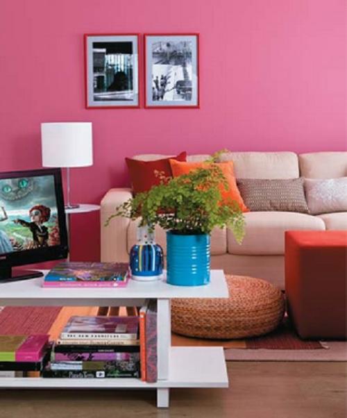 decor pink