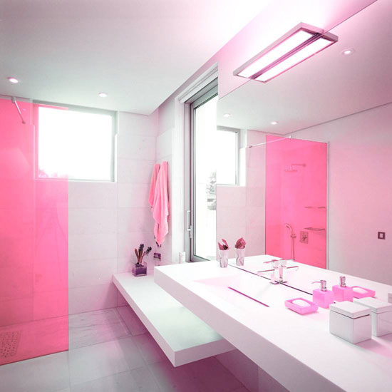 Cute Apartment Bathroom Love The Color: I Love Pink - Moda, Beleza, Novidades Rosa Para As Garotas
