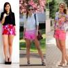 Como usar: shorts rosa