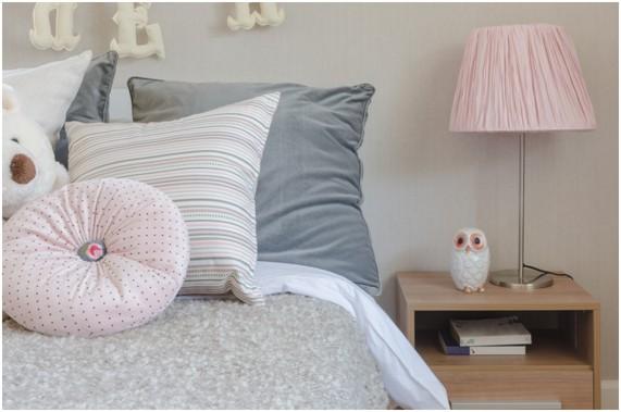 Decoração de quarto de casal cor de rosa