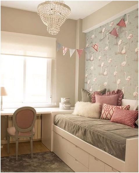 Tendência de decoração: Flamingos - papel de parede de flamingo