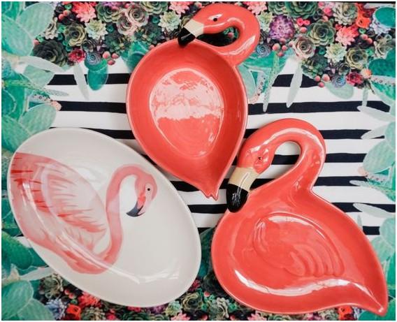Tendência de decoração: Flamingos - utensílios de cozinha em forma de flamingo