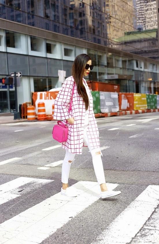Como usar bolsas pink