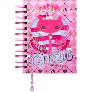 agenda cor-de-rosa Capricho