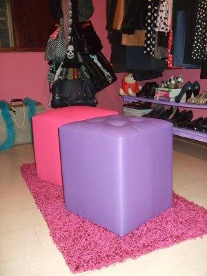 Closet cor-de-rosa