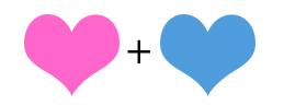 Rosa e Azul
