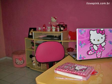 Meu Quarto Cor-de-Rosa: Janaina - I Love Pink