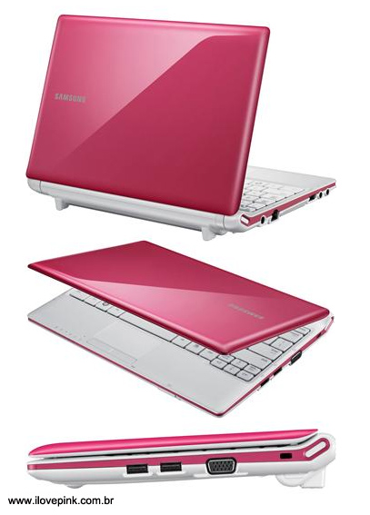 Netbook rosa Samsung