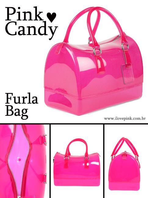 Pink Candy Furla Bag
