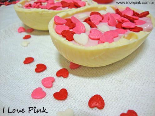 I Love Pink - sobremesa para páscoa - ovo de páscoa de colher com danoninho