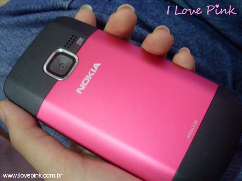 I Love Pink - Celular Nokia C3 Pink