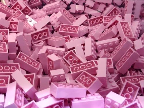 I Love Pink - brinquedos cor de rosa