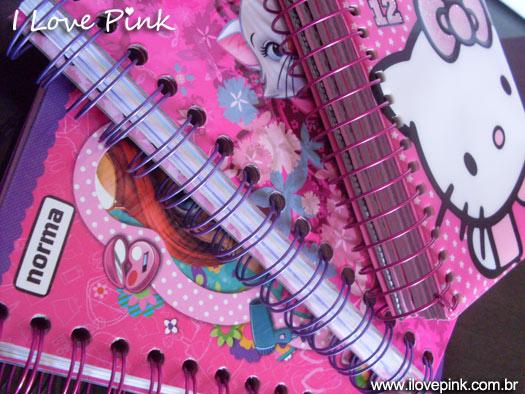 Sorteio de agendas cor de rosa 2012