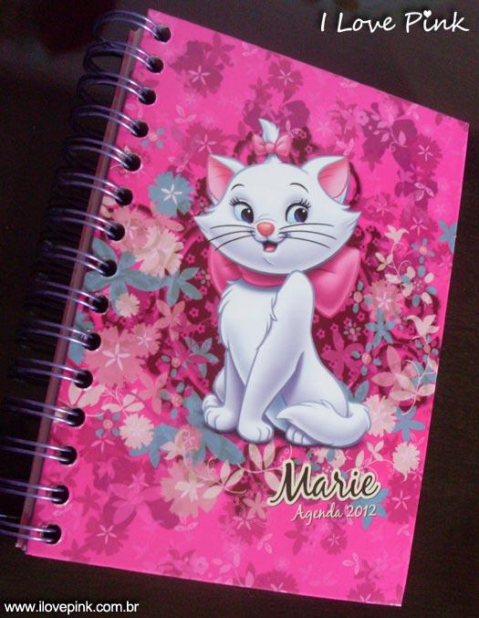 Agenda Cor de Rosa 2012: Marie (Norma) - capa