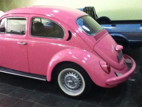 I Love Pink - Fusca cor de rosa