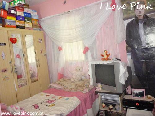 I Love Pink - Meu Quarto Cor de Rosa: Nákila