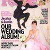 Jessica Biel (a noiva do Justin) casou de vestido cor ..