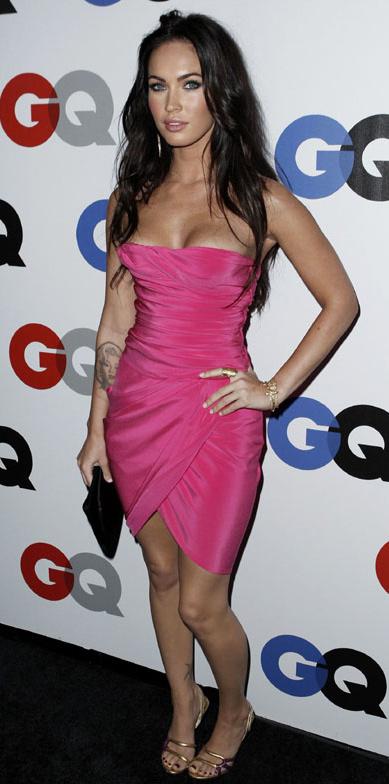 Look rosa - Megan Fox
