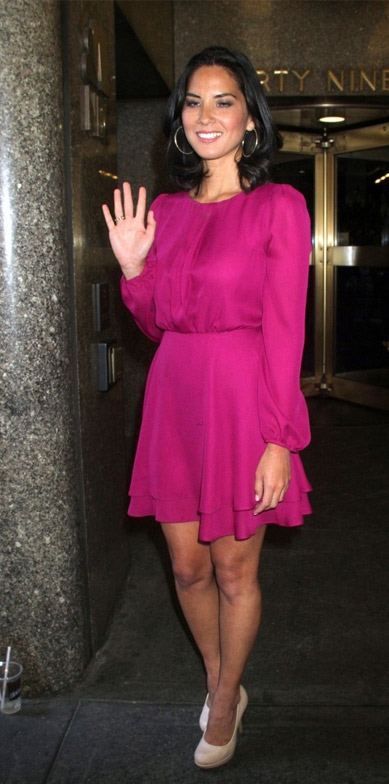 Batalha de Look - Olivia Munn