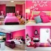 Como fazer uma decoração cor de rosa pela casa?