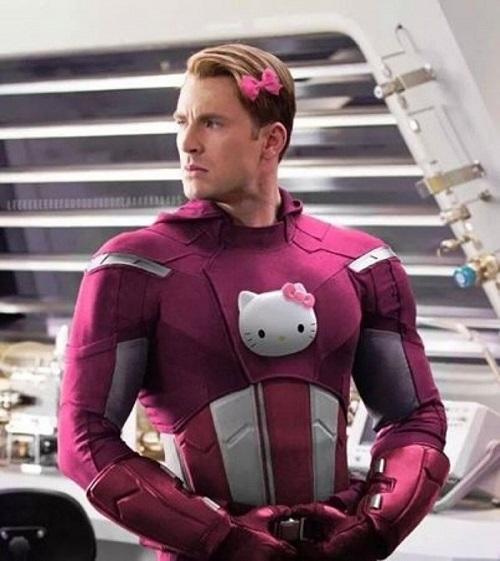 pink super herói