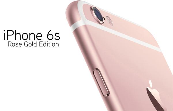 iPhone cor de rosa - ouro rosa - rose gold edition