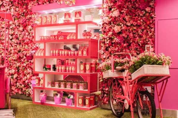 A loja cor-de-rosa da Granado Pink