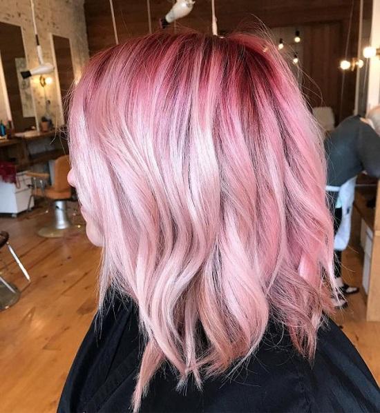 Flamingo hair - tendência