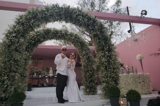 Casamento cor de rosa
