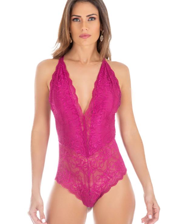dicas para usar body cavado sem erro - moda íntima feminina - body cor de rosa